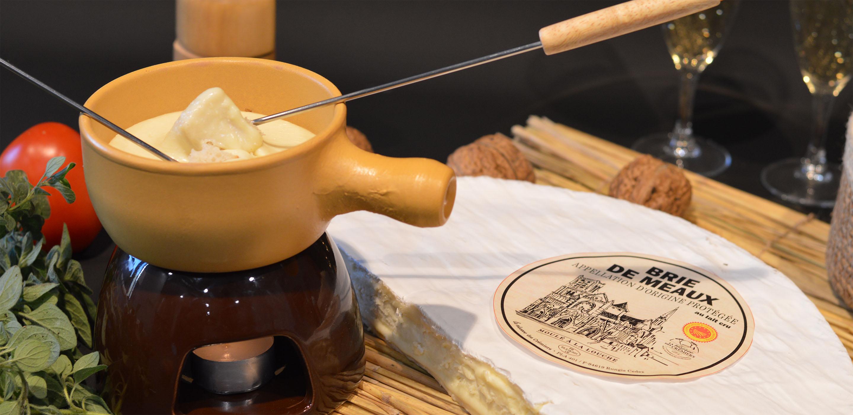Fondue Brie de Meaux AOP la Réserve des Crémiers